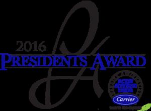Malek Service Company - President's Award 2016
