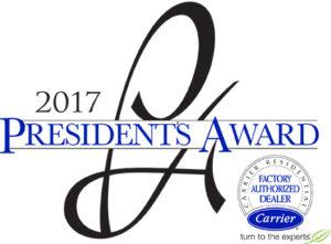 Malek Service Company - President's Award 2017